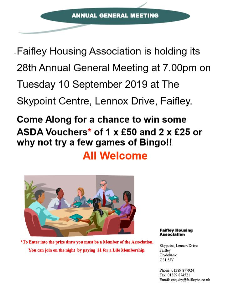 Faifley Annual General Meeting